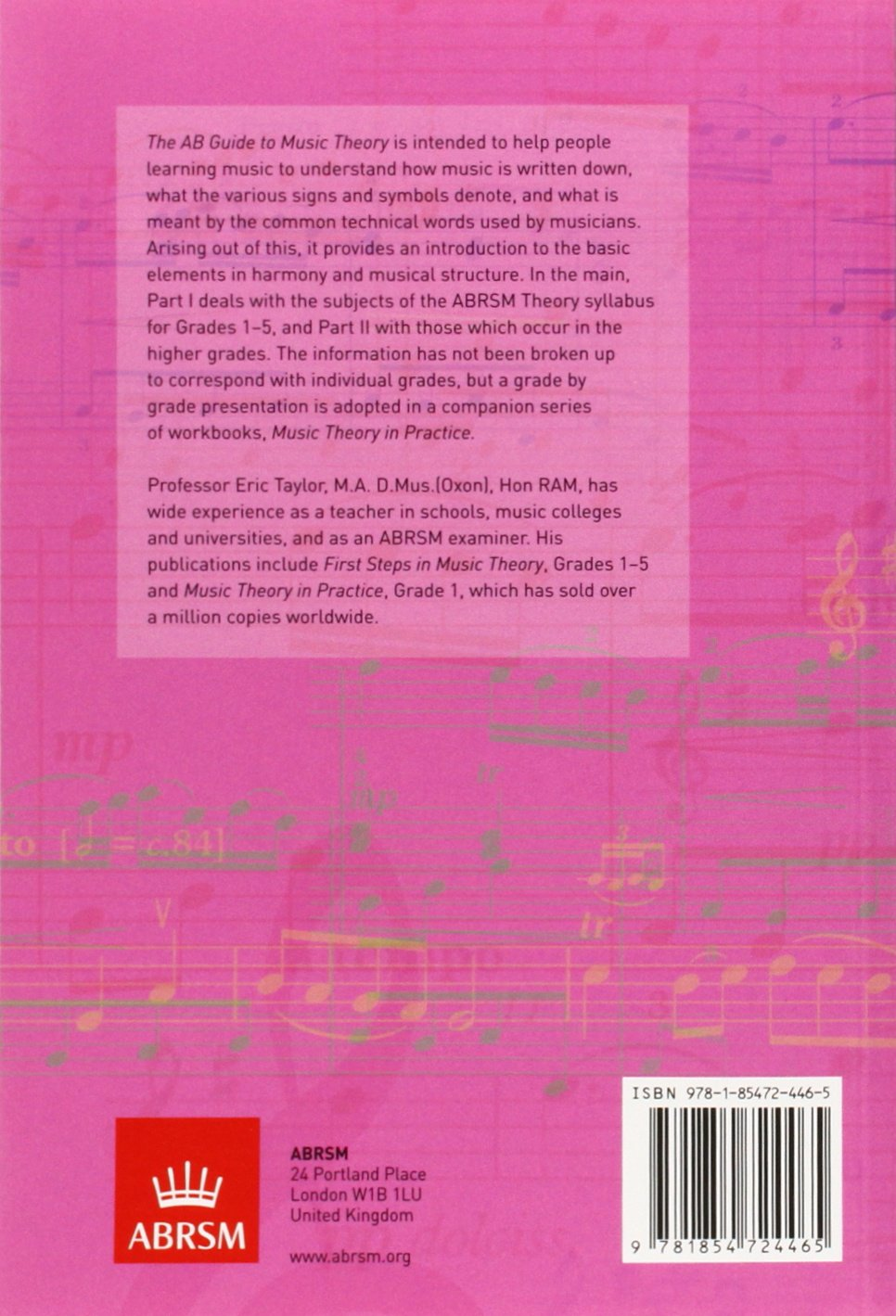 Buy The AB Guide to Music Theory, Part I Book Online at Low Prices ...