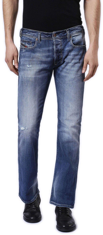 Diesel - Mens Zatiny Bootcut Jeans, Wash Code: 084DD, Size: 33W x 32L, Color: Denim