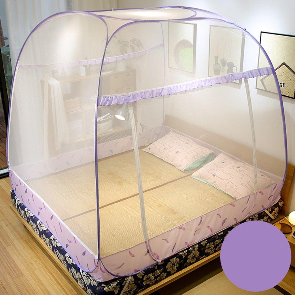 WLHW Moskitonetze Moskitonetze im Freien mongolische Jurte Dome Net-Free Installation und Folding Nets verhindern Insekt sicherzustellen, Luftstrom Pop-up-Zelt Vorhänge Ideal für Den Innenbereich