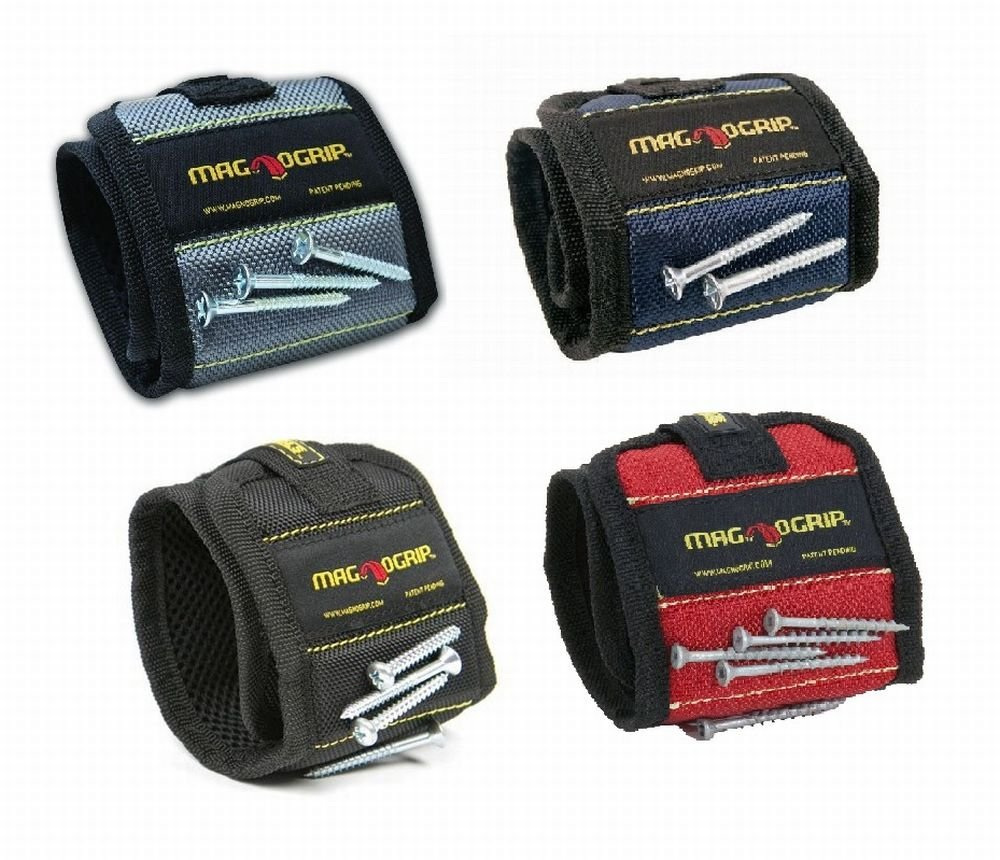 MagnoGrip 002-825 Magnetic Wristband - 4 Pack by MagnoGrip