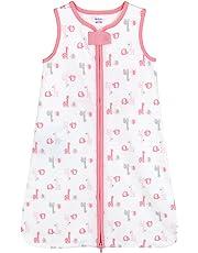 Gerber Wear-A-Blanket, Medium, Pink/Grey Giraffes