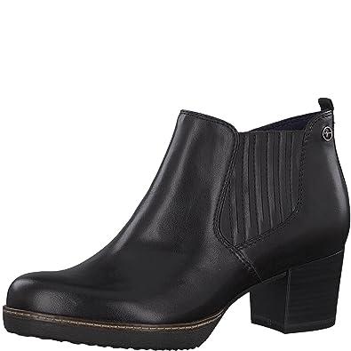 Tamaris Damen Chelsea Boots 25336 21,Frauen Stiefel,Halbstiefel,Stiefelette,Bootie,Reißverschluss,Blockabsatz 5.5cm