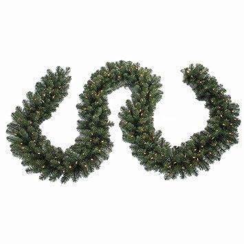 North Pole Originals 15' Long Pre-Lit, Lighted Christmas Garland - 500 Tips - Amazon.com: North Pole Originals 15' Long Pre-Lit, Lighted Christmas