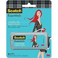 Scotch Essentials Wardrobe Tape Strips, 36 Strips (W-101-A)