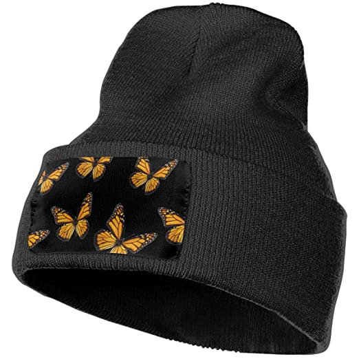 c8fb87e111c Image Unavailable. Image not available for. Color  LogicTCCC Pink Flamingo  Leaves Warm Winter Knit Plain Beanie Hat Skull Cap ...
