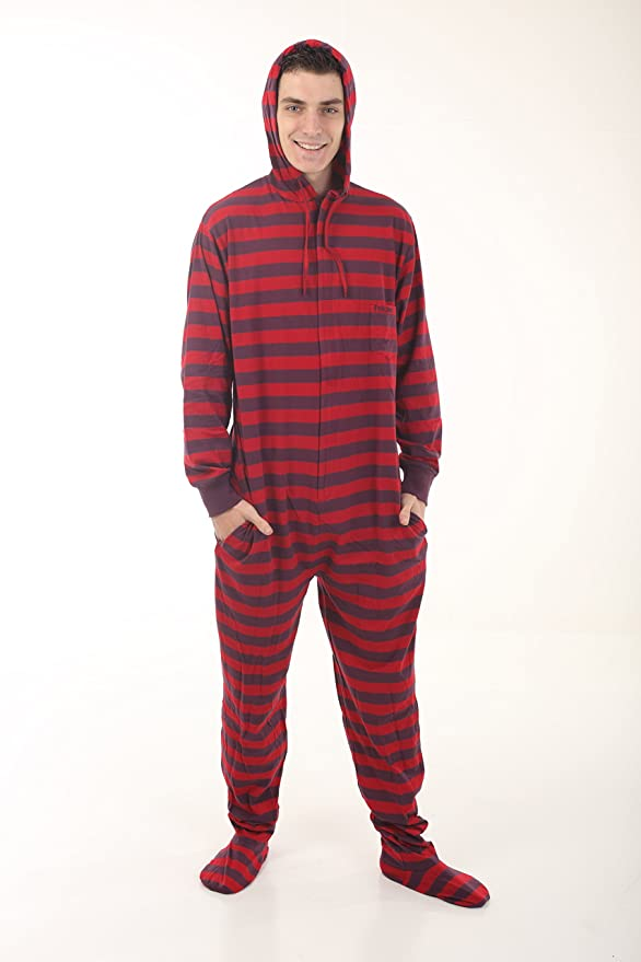 Funzee Pijama de Una Pieza Adulto Onesie Pijama Pijamas Entero con pies y con Capucha - Jumpsuit Mono XS-XXL (basado en su Altura): Amazon.es: Ropa y ...