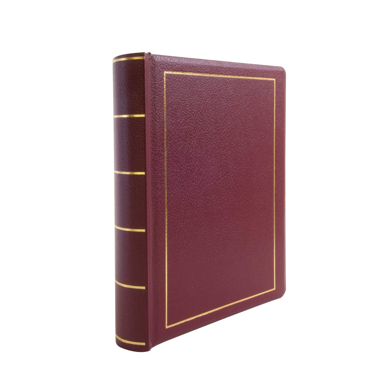 Wilson Jones Minute Book, Binder Only, Letter Size, 250 Page Capacity, Imitation Leather, Red (W396-11) by Wilson Jones