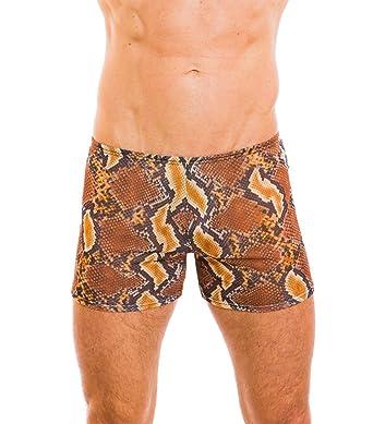 226ceaa4e1f2e Image Unavailable. Image not available for. Color: Kiniki Boa Tan Through  Swim Shorts Swimwear