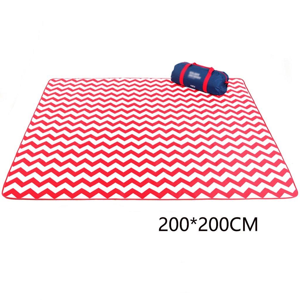 LXF Picknickdecken Feuchtigkeitsfeste Matte Outdoor Portable Wasserdichte Folding Picknick Picknick Picknick Matten (200  200CM) Wasserdichte Unterlage B073XDMWWW | Vielfältiges neues Design  fc0880