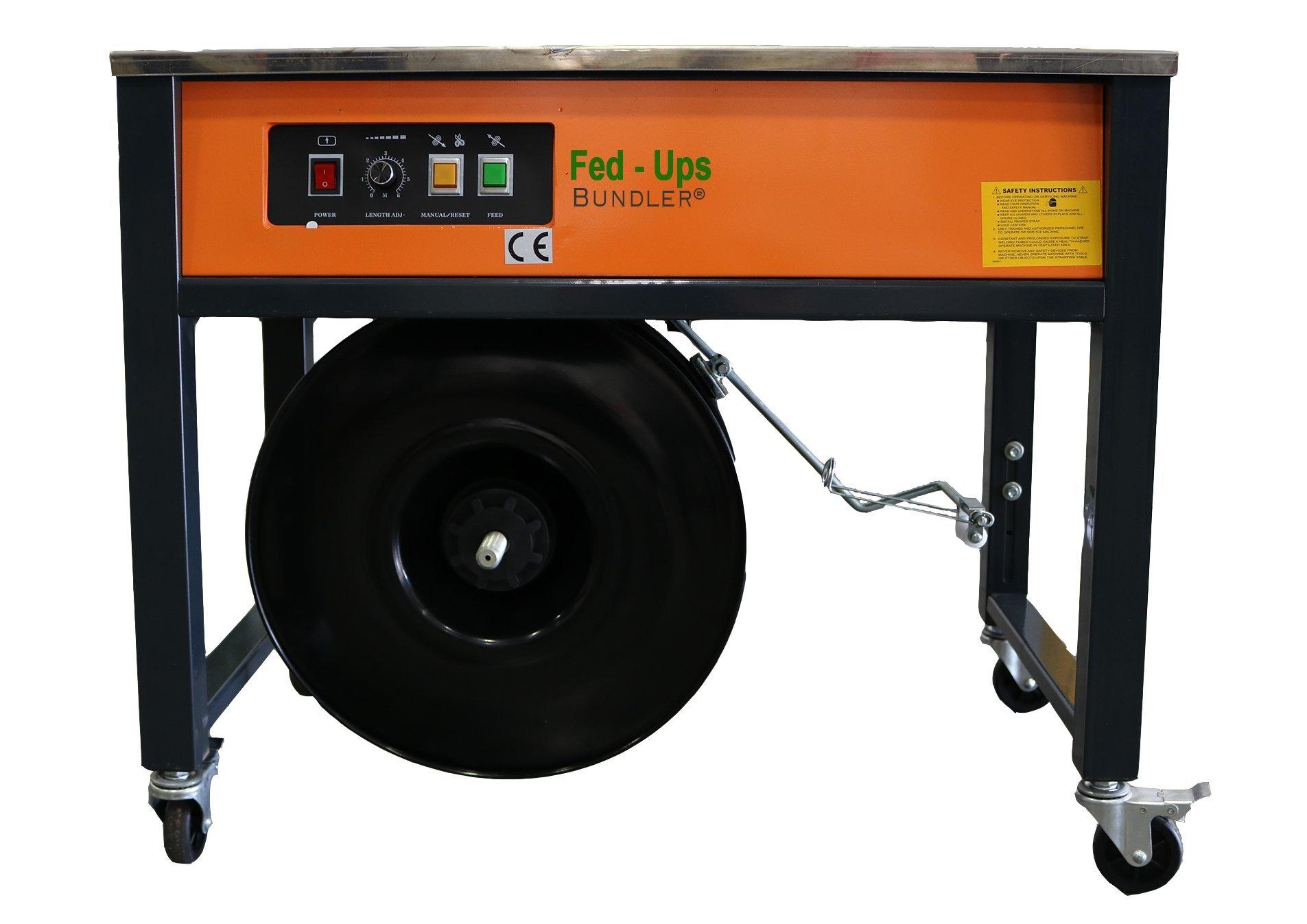 GAPCO Fed-Ups Bundler Table Strapping Machine