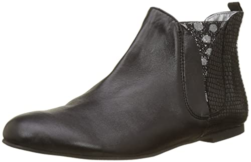 Patch-Silver, Womens Chelsea Boots Ippon Vintage