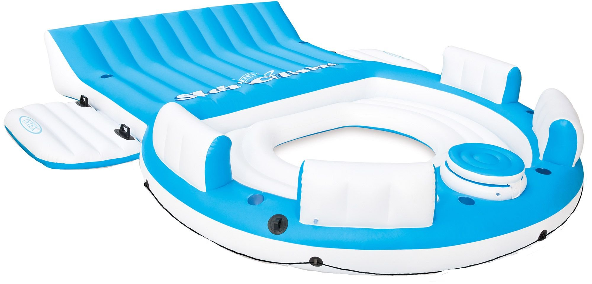 Intex Splash 'N Chill, Inflatable Relaxation Island, 145''X125''X20'' by Intex