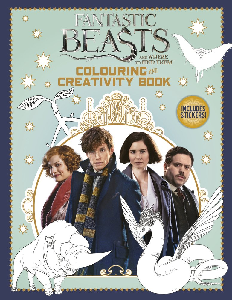 7abd9a8f1f Fantastic Beasts and Where to Find Them: Colouring and Creativity Book  (with stickers) Paperback – 18 Nov 2016