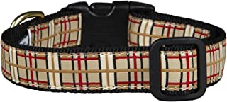 product image for 'Up Country Plaid Dog Collar Wide 1 UPC – C – L – Large
