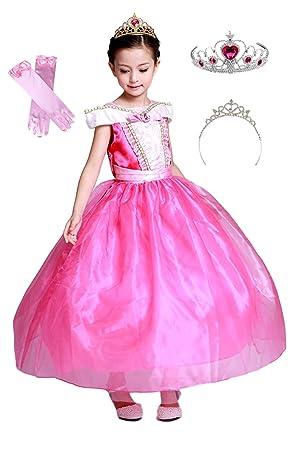 18a4920469f6b (eones)オーロラドレス プリンセスドレス しっかり3層構造 ふんわり 子供用 ロングドレス