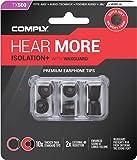 Comply (コンプライ) イヤホンチップ Tx-500 ブラック Mサイズ (3ペア) [並行輸入品]