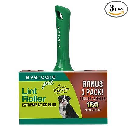 Amazon.com: Rodillo atrapa pelusas de Evercare Pet con 2 ...