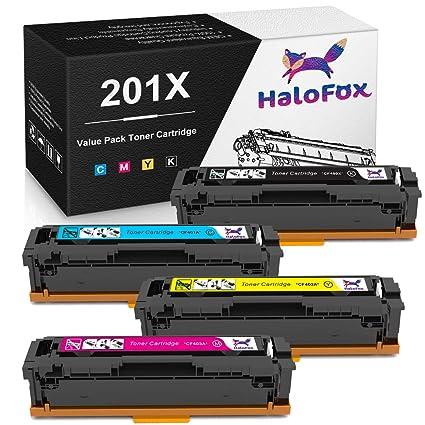 halofox alto rendimiento Compatible color cartuchos de tóner de ...