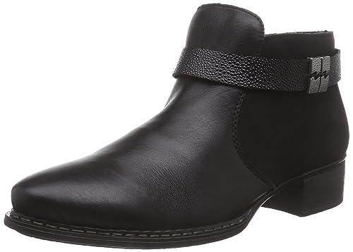 sports shoes d77a4 eb5cc Rieker 73660 Damen Kurzschaft Stiefel