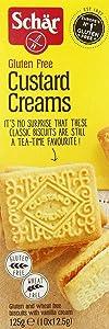 Schar Gluten Free Custard Creams 125g (Pack of 3)