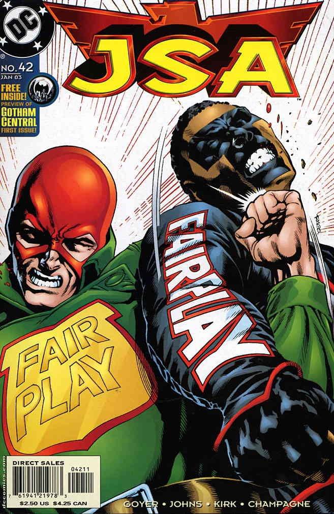 JSA 42 DC Comic Book 00000000000163