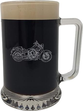 Drinks Are On Me Knight – Jarra de Cerveza, diseño de Harley Davidson, Caja de Regalo de Regalo, Bikers Regalo, Regalo de los Amantes de la Moto: Amazon.es: Alimentación y bebidas