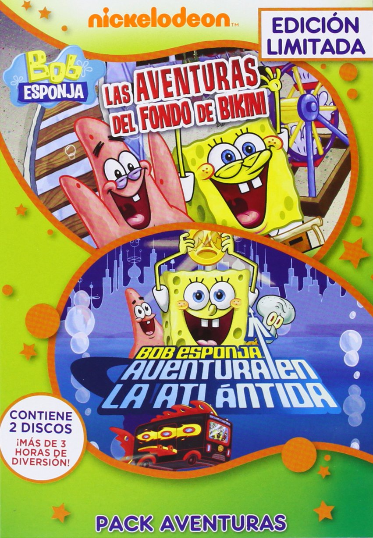 Bob Esponja Pack Aventuras: Aventuras De Fondo De Bikini + ...