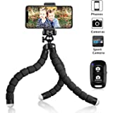 UBeesize Tripod S, Premium Phone Tripod, Flexible Tripod with Wireless Remote Shutter, Compatible with iPhone/Android…