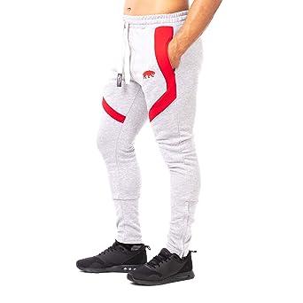 37c0b58056892 Pantalones de chándal SMILODOX corte ajustado para hombre