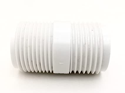 Captivating 3/4u0026quot; PVC Garden Hose Adapter (Male 3/4u0026quot; NPTxGHT)