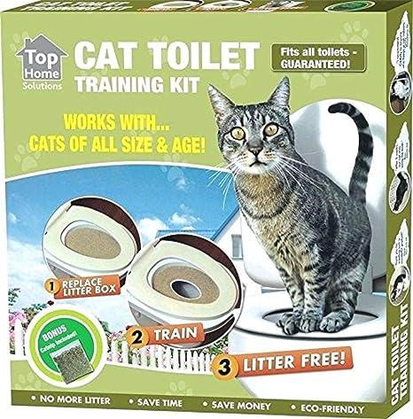 Ducomi KatWC - Kit para el Entrenamiento de Gatos - Entrene a su Mascota a Usar