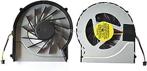 Todiys CPU Cooling Fan for HP Pavilion DV6-3000 DV6-4000 DV7-4000 Series DV6-3034NR DV6-3037CA DV6-3147CA DV6-3259WM DV6-3270CA DV6-4051NR DV7-4053CL DV7-4169WM DV7-4267CL DV7-4269WM DFB552005M30T