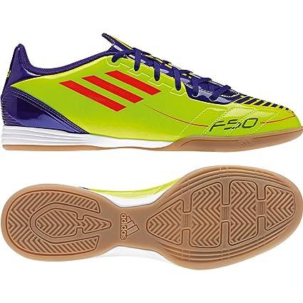 adidas Fußballschuhe Hallenschuhe F10 IN gelb lila