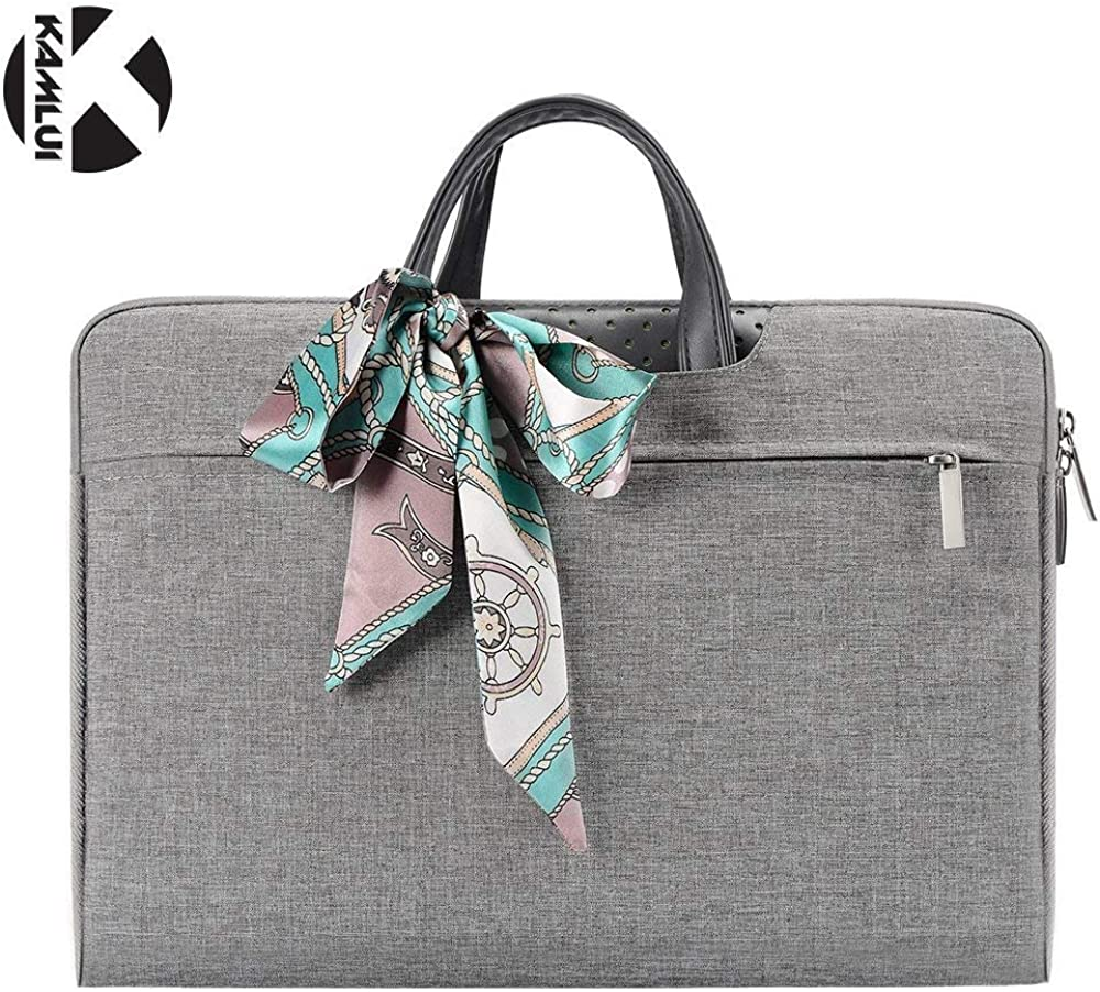 Kamlui 15.6 Inch Laptop Bag - for Women Notebook Briefcase Tote Bag