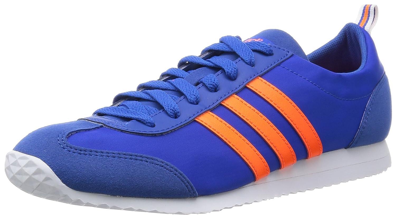 outlet store a9ca2 5de58 adidas New Mens Gents Blue Orange Neo Vs Jog Lace Ups Trainers -  Blue Orange - UK Sizes 6-10  Amazon.co.uk  Shoes   Bags