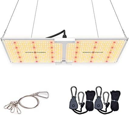 Amazon Com Spider Farmer Sf 2000 Led Grow Light 2x4 Ft Coverage Compatible With Samsung Lm301b Diodes Meanwell Driver Dimmable Grow Lights Full Spectrum For Indoor Hydroponic Plants Veg Bloom 606pcs Leds