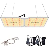 Spider Farmer SF-2000 LED Grow Light with Samsung Chips LM301B & Dimmable MeanWell Driver Commercial White Grow Lights…