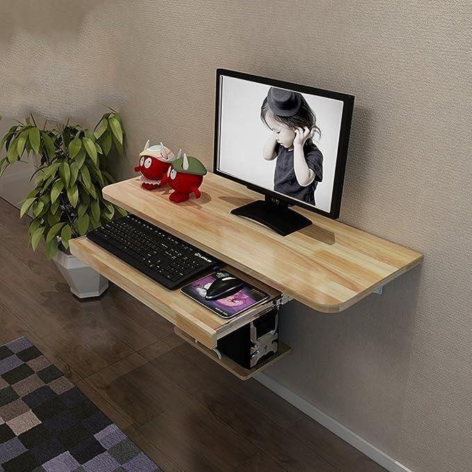 Mesa plegable Feifei Escritorio con Monitor Grande para ...