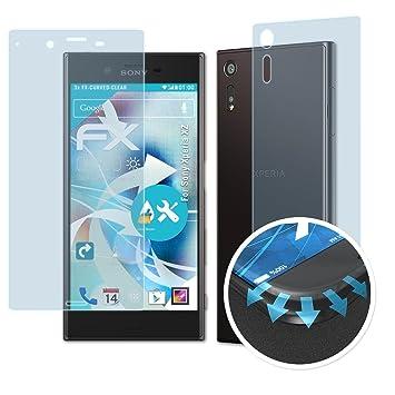 Tablet & Ebook-zubehör Atfolix 3x Displayschutzfolie Für Sony Xperia Z Ultra Schutzfolie Fx-clear Folie