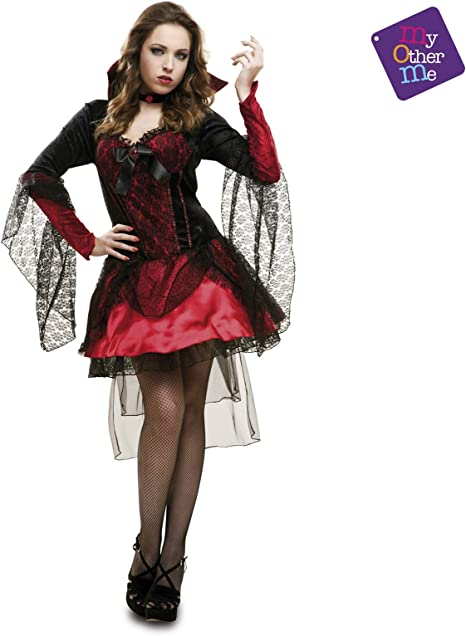 My Other Me Me Me - Halloween Vampiresa Disfraz, Multicolor, M/L ...