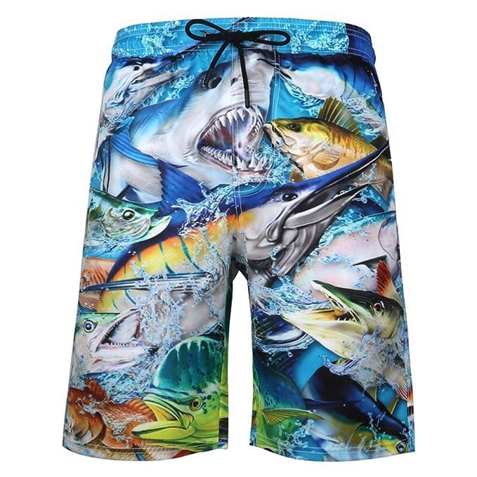 Amazon.com: Pantalones cortos para hombre, para verano ...