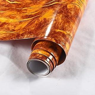 Resistente al agua aspecto de mármol granito papel de contacto encimera de cocina Backsplash cuadro autoadhesivas película vinilo estante maletero Glow4u GL001