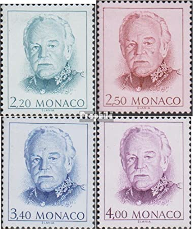 Prophila Monaco 2020 2023 Komplausg 1991 Freimarken Fürst