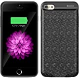 iPhone 7 Battery Case SOLEMEMO Ultra Slim Extended Smart Charging Case External Battery Case Portable Charger for iPhone 7 4.7 inches with 2500mAh Black