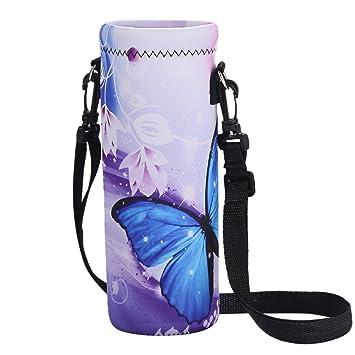 Amazon.com: Botella de agua, de neopreno aislante botella de ...