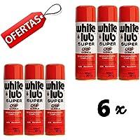 6 Lubrificante White Lub Desengripante Tipo Wd 300 Ml Spray
