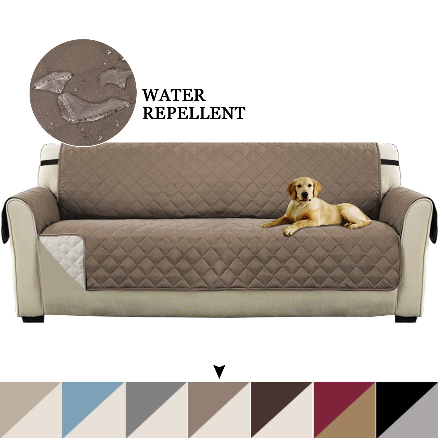 Details about Vailge Oversize Reversible Sofa Cover, Extra Large Sofa  Slipcover With 2\