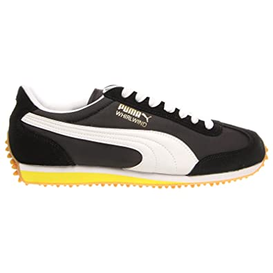 0df7be5c6bc634 Puma Whirlwind Classic Black White Mens Trainers Size 9 UK  Amazon.co.uk   Shoes   Bags
