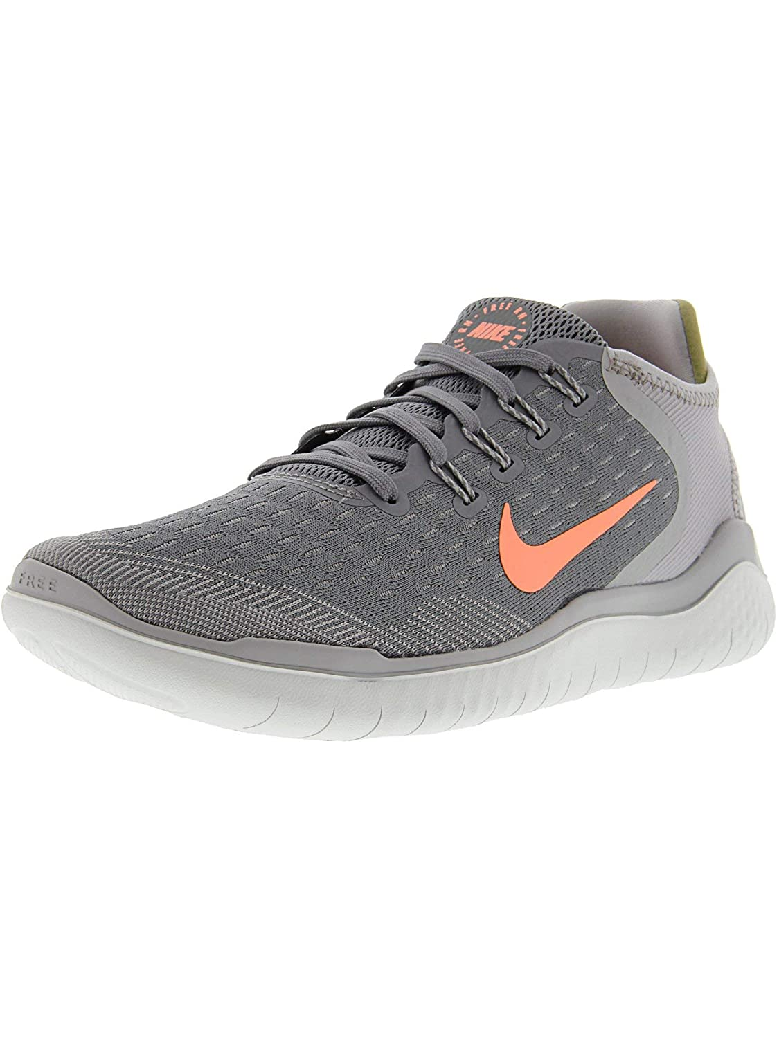 d68af03a1f9c Amazon.com  Nike Women s Free RN 2018 Running Shoe Gunsmoke Crimson Pulse  Atmosphere Grey Size 9.5 M US  Nike  Sports   Outdoors