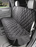 Dog Seat Cover Without Hammock for Cars, Trucks and SUVs - USA Based Company - Black, Tan, Grey